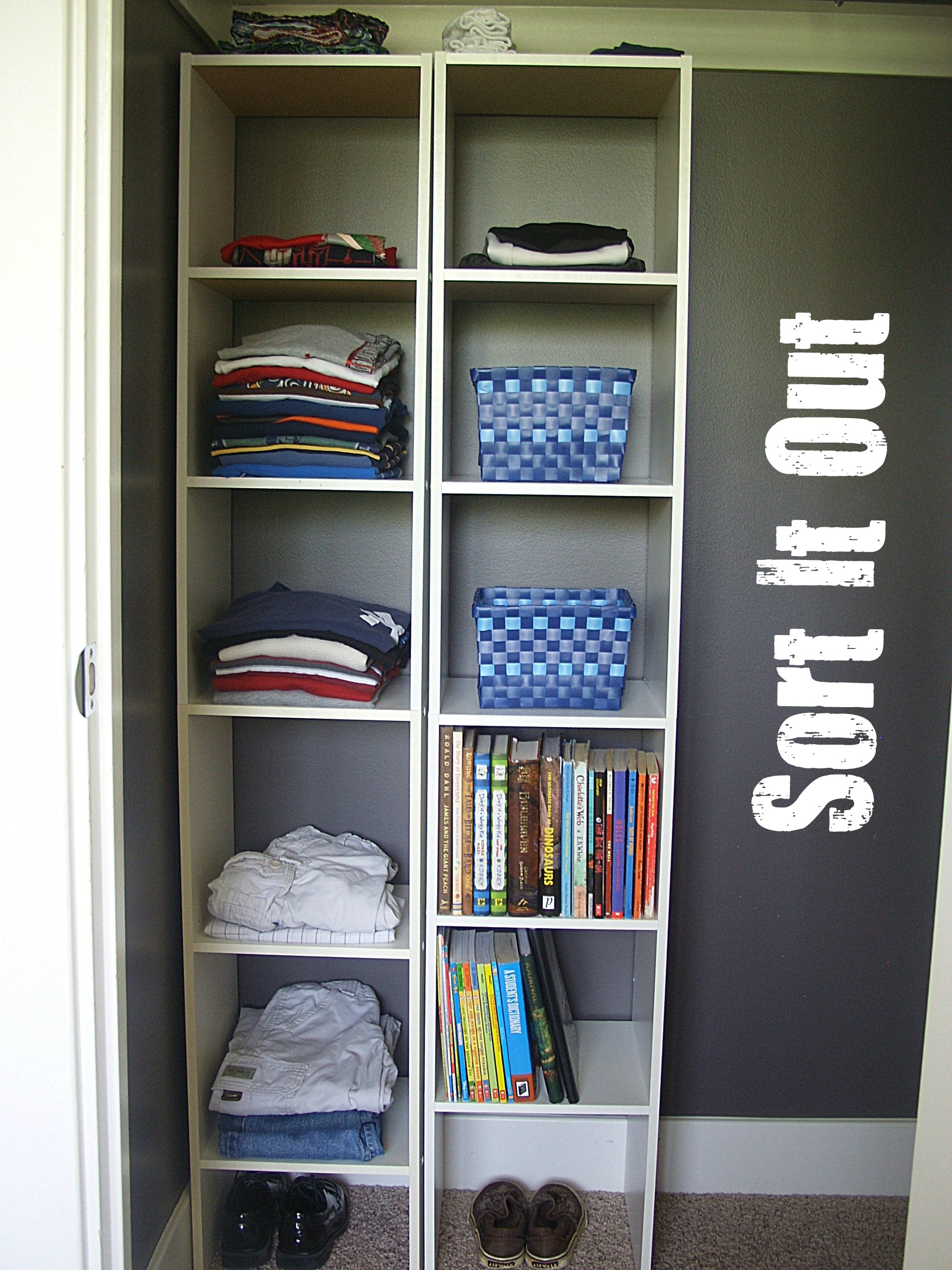 Organized kids rooms organize and decorate everything How to organize your clothes without a closet