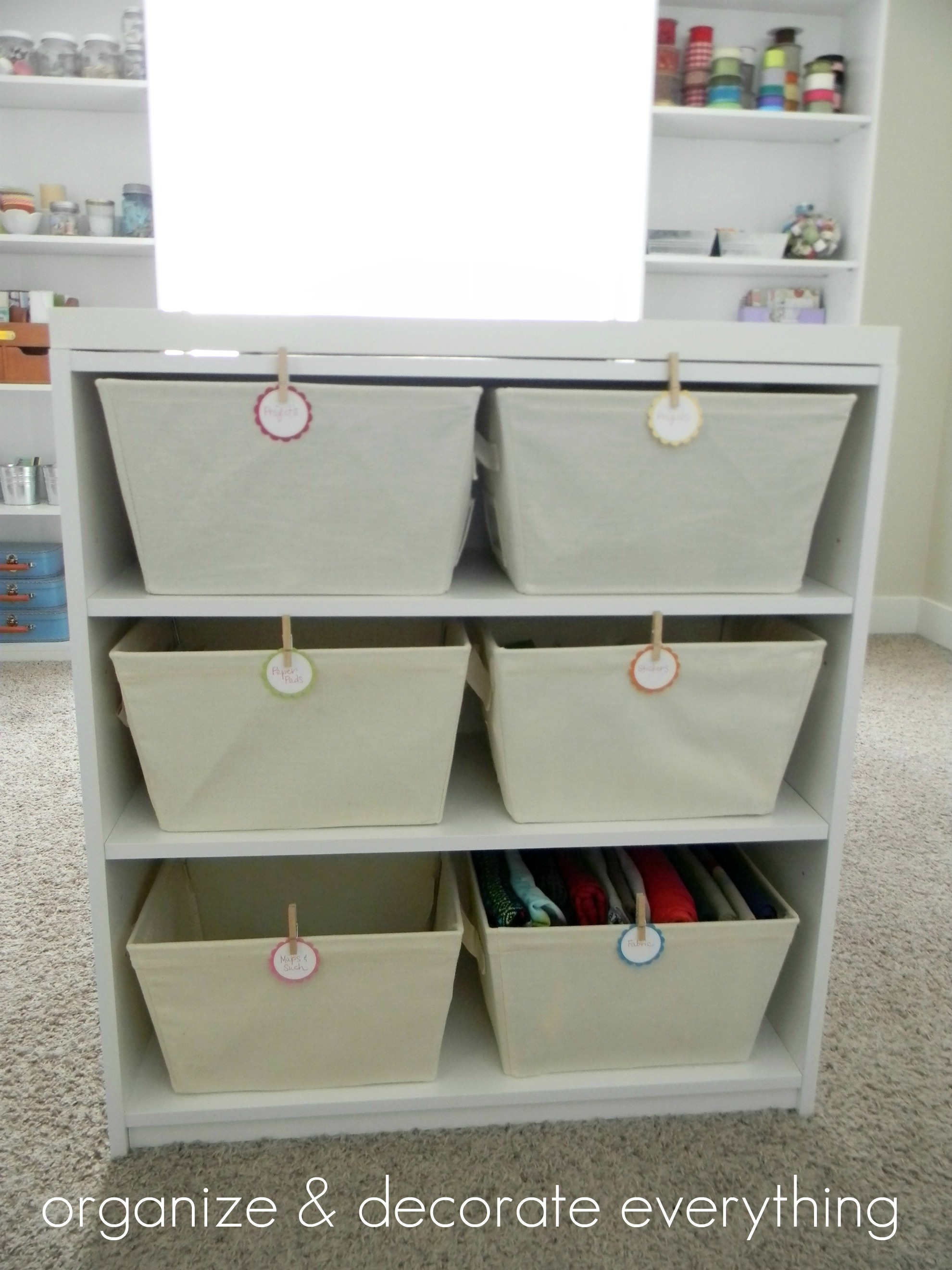 Crafts table with storage - The Table