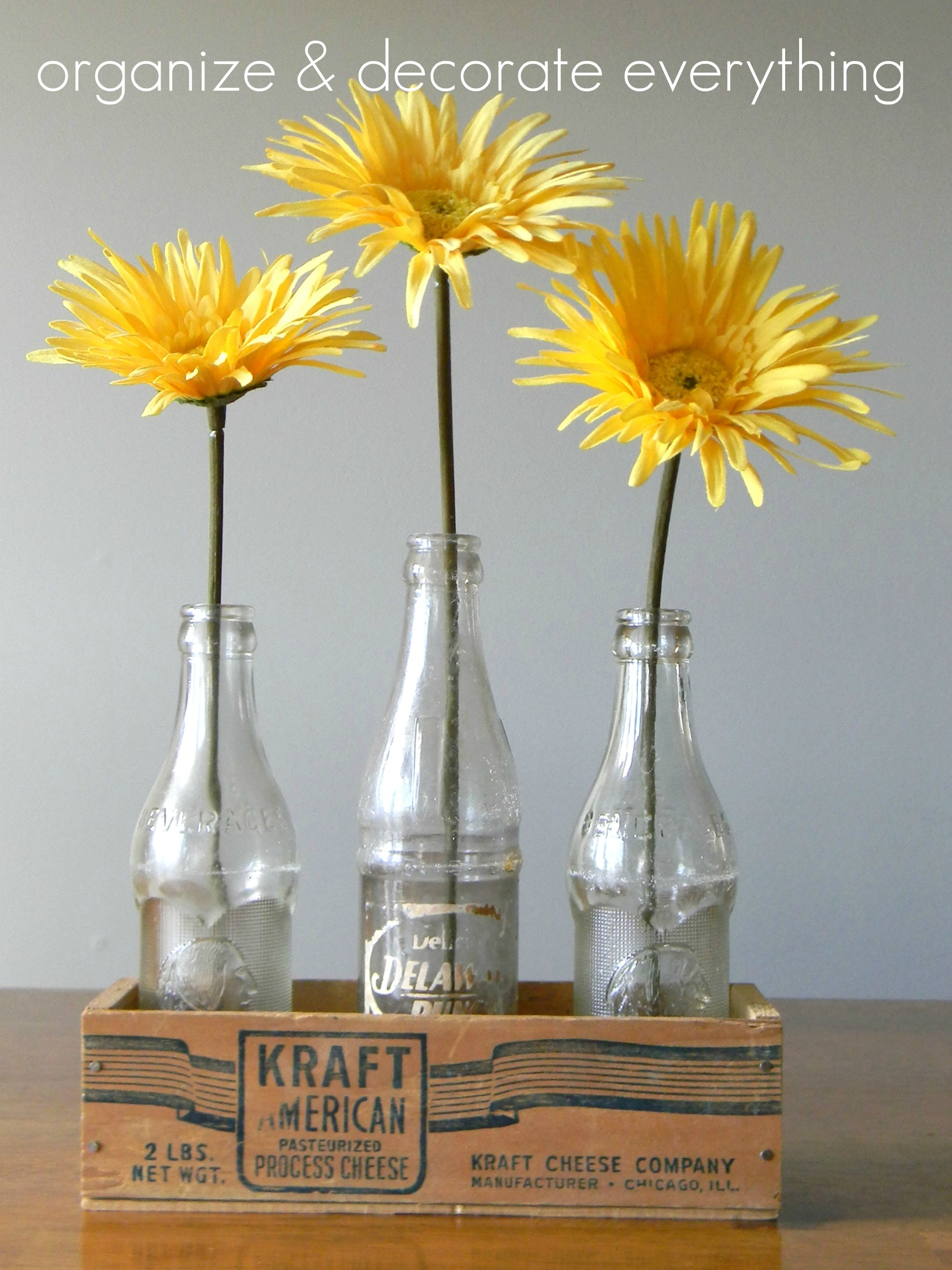 Help ideas for yellow centerpieces you could buy some yellow cardstock and attach whatever type of embellishments youd like buttons sequins etc mightylinksfo