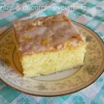 Gluten-Free Hot Lemon Poke Cake
