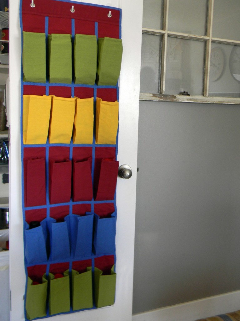 over the door organizer for the pantry organize and