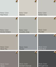 Choosing Colors for Your Home paint chip samples