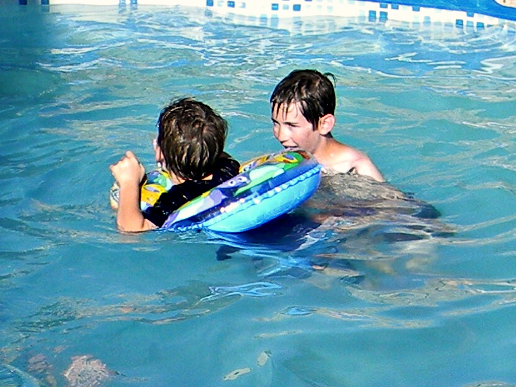 Ammon Swimming Pool: Peek Through Last Week And A Week Away