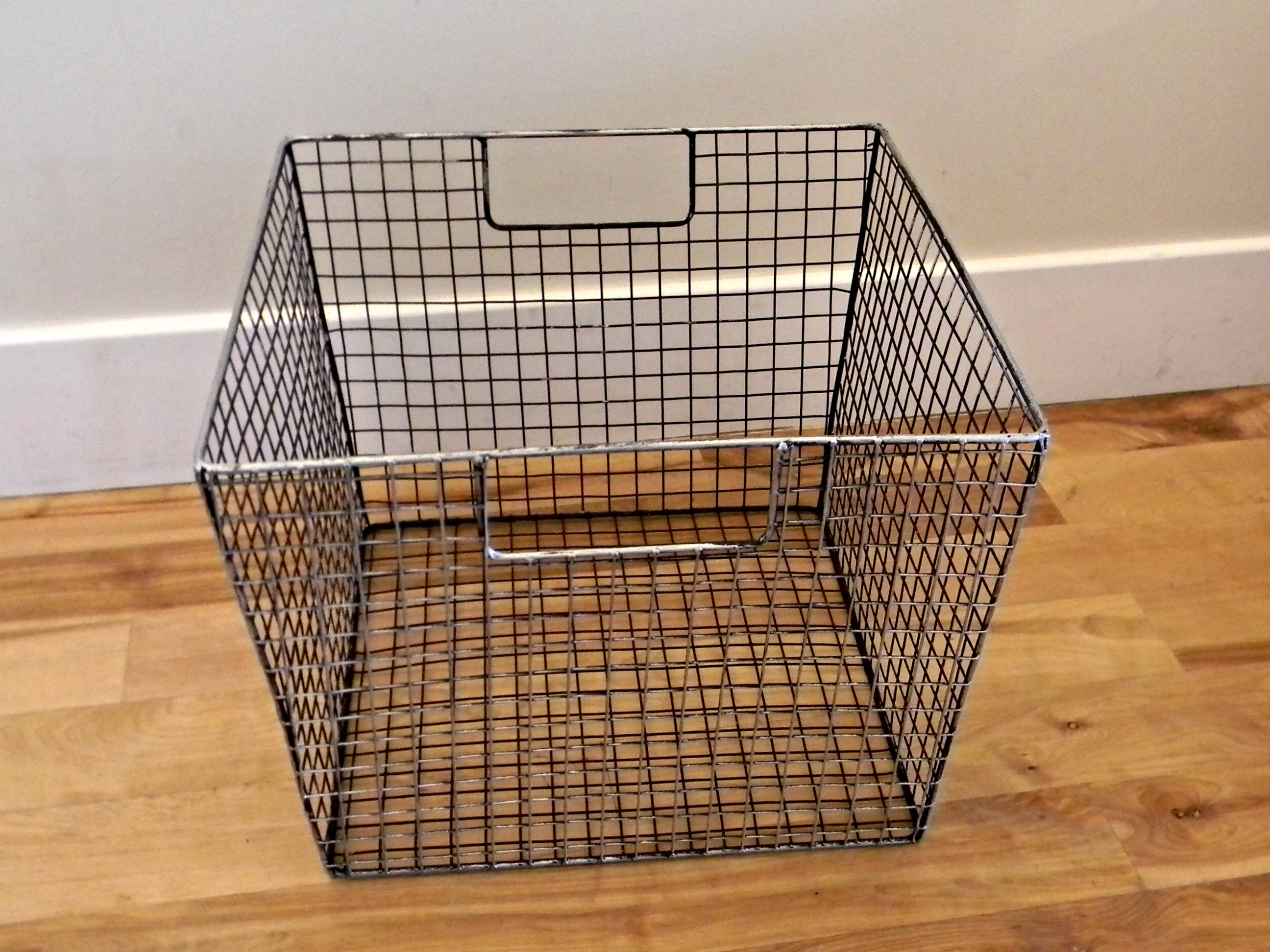 Metal Basket With Holes : Wire basket for flip flops organize and decorate everything