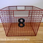 Wire Basket for Flip Flops