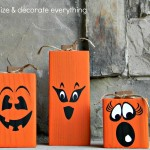 4×4 2-Sided Pumpkins and Giveaway