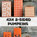 4×4 2-Sided Pumpkins