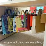 Gift Bag Storage