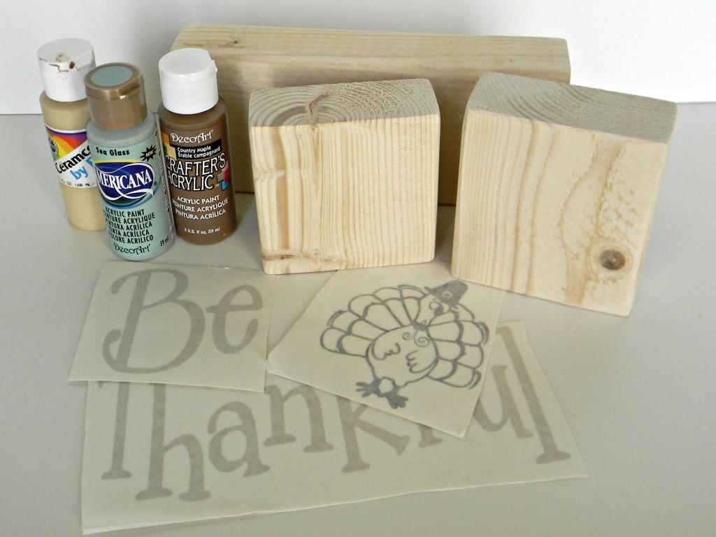 Be Thankful Blocks supplies