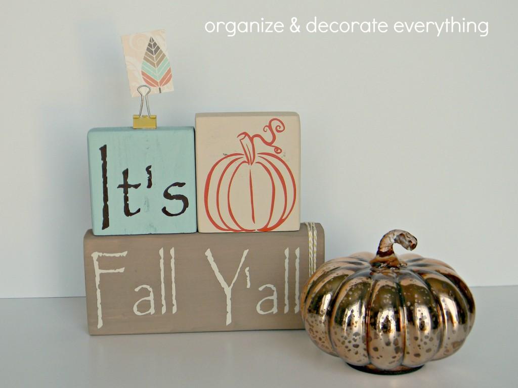 Its Fall Yall blocks