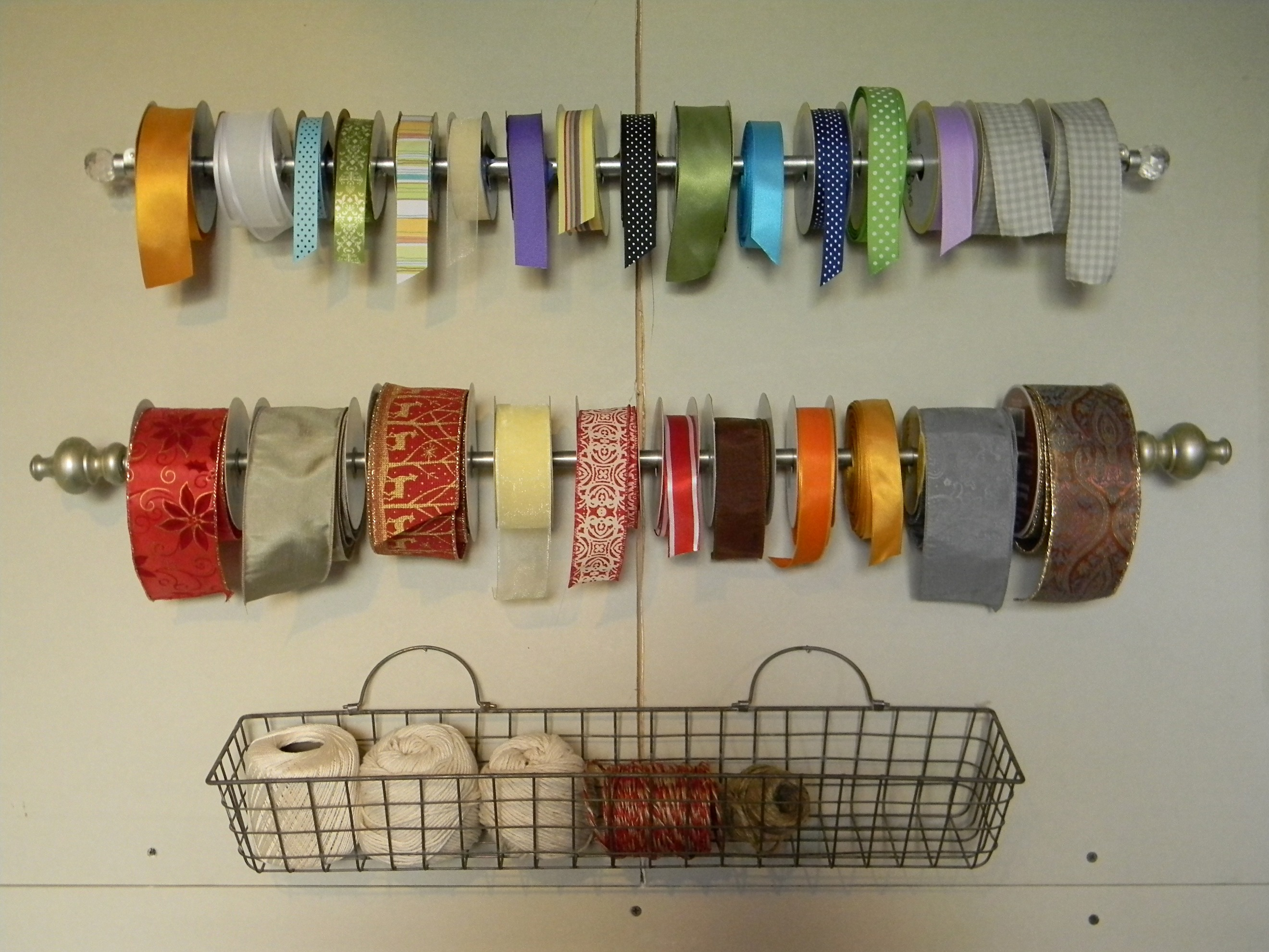 Scrapbook ideas with ribbon - These