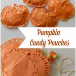 Pumpkin Candy Pouches