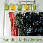 Planning Kids Clothes for the Week