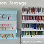 Ideas for Storing Ribbon