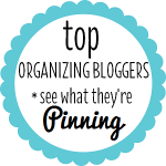 Top Organizing Bloggers on Pinterest