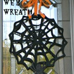 Spider Web Charger Wreath