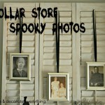 Dollar Store Spooky Photos