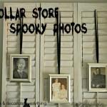 Dollar Store Spooky Photos