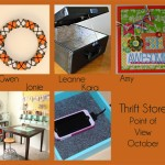October Point of View Link Party – Thrift Store