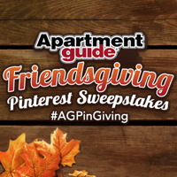 $100 gift card giveaway from apartment guide by hoosier homemade.