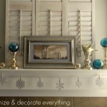 Winter Mantel on HGTV.com