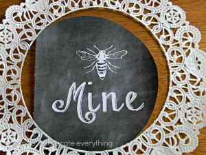 Be Mine Printable 5.1
