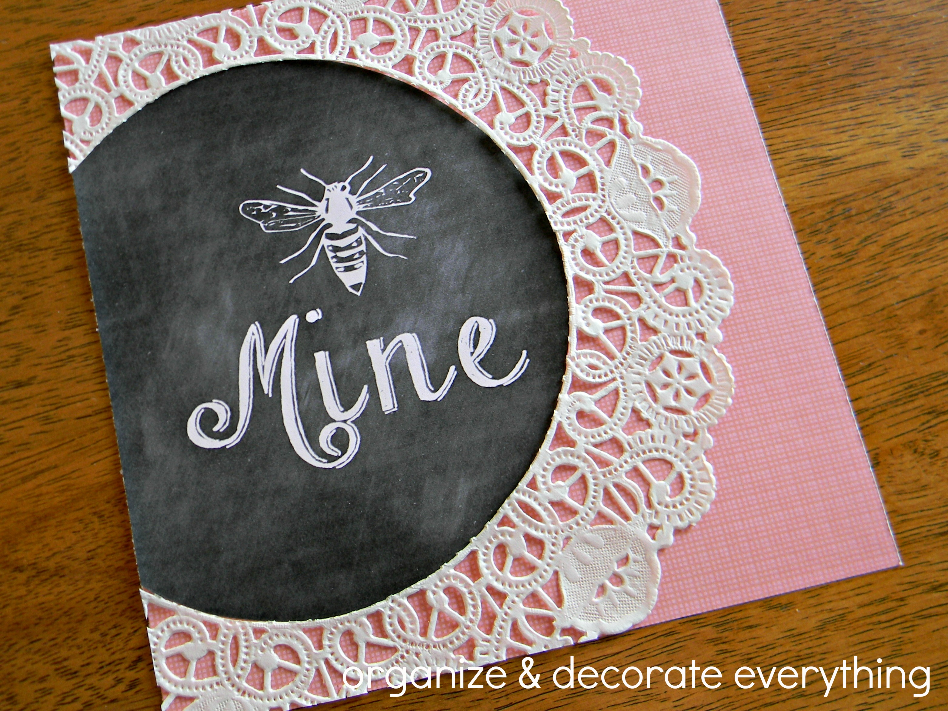 Be Mine Printable 7.1
