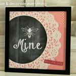 Bee Mine Printable