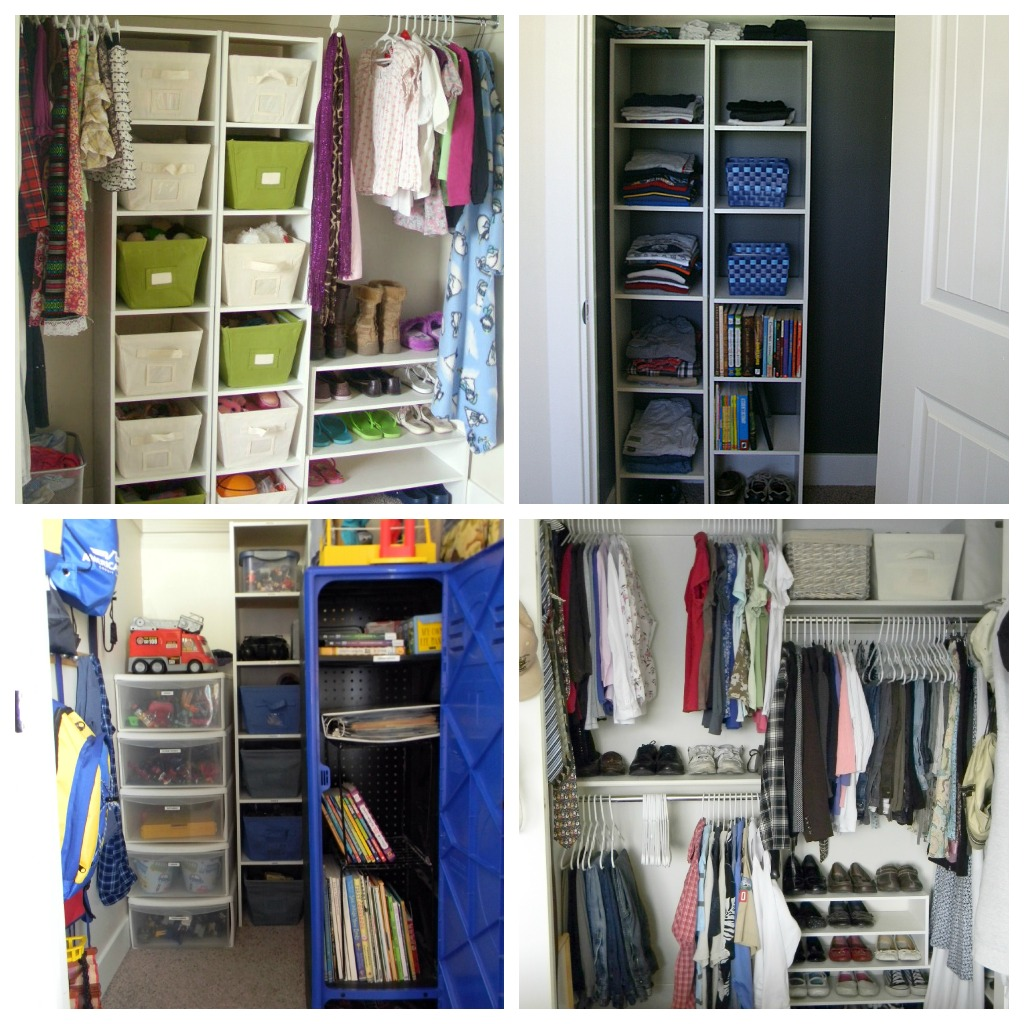 Bedroom closets by Organize & Decorate Everything