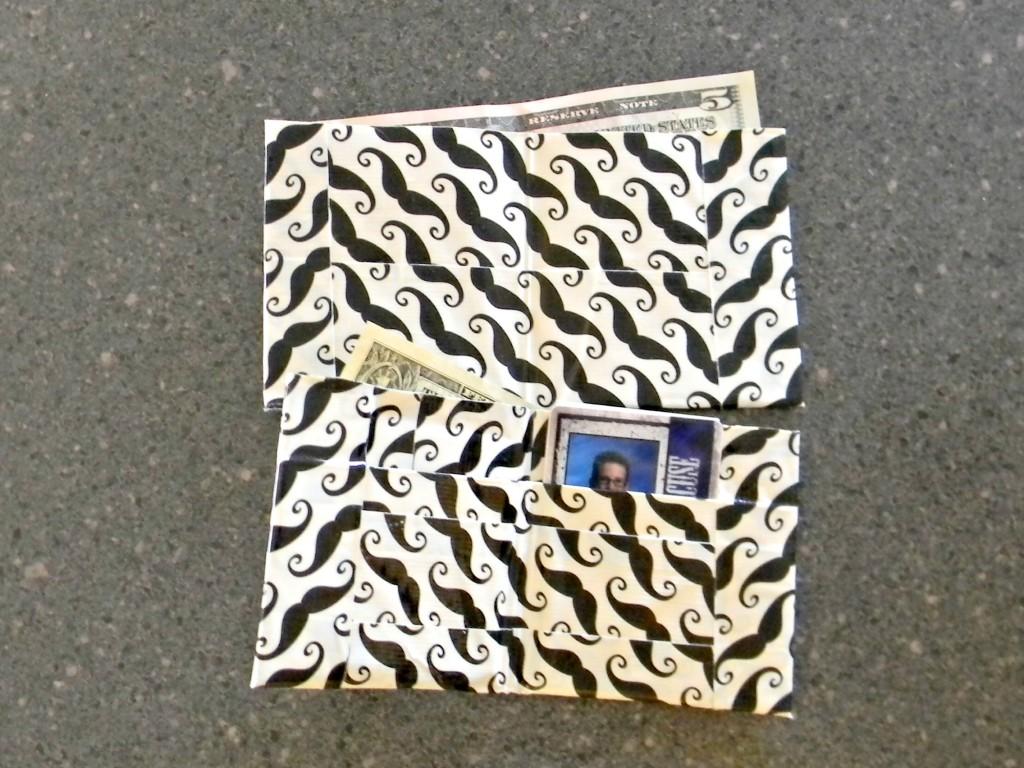 Duck Tape Wallet 7