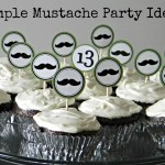 Simple Mustache Party Ideas