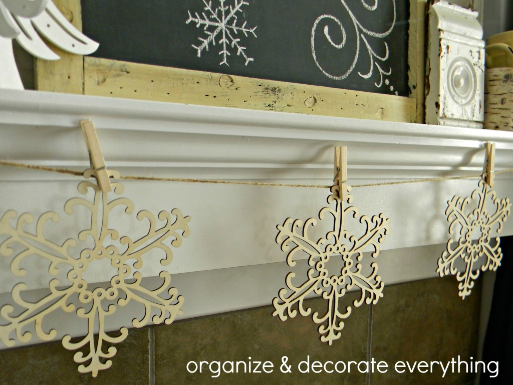Winter wonderland mantel 6.1