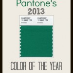 Emerald: Pantone's 2013 Color of the Year