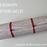 More Ribbon Storage Ideas