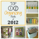Top 12 Organizing Posts of 2012