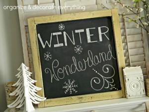 winter wonderland chalkboard.1