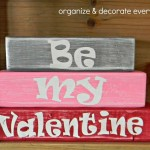 Be My Valentine Mini Stacker