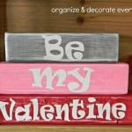 Be My Valentine Mini Stacker