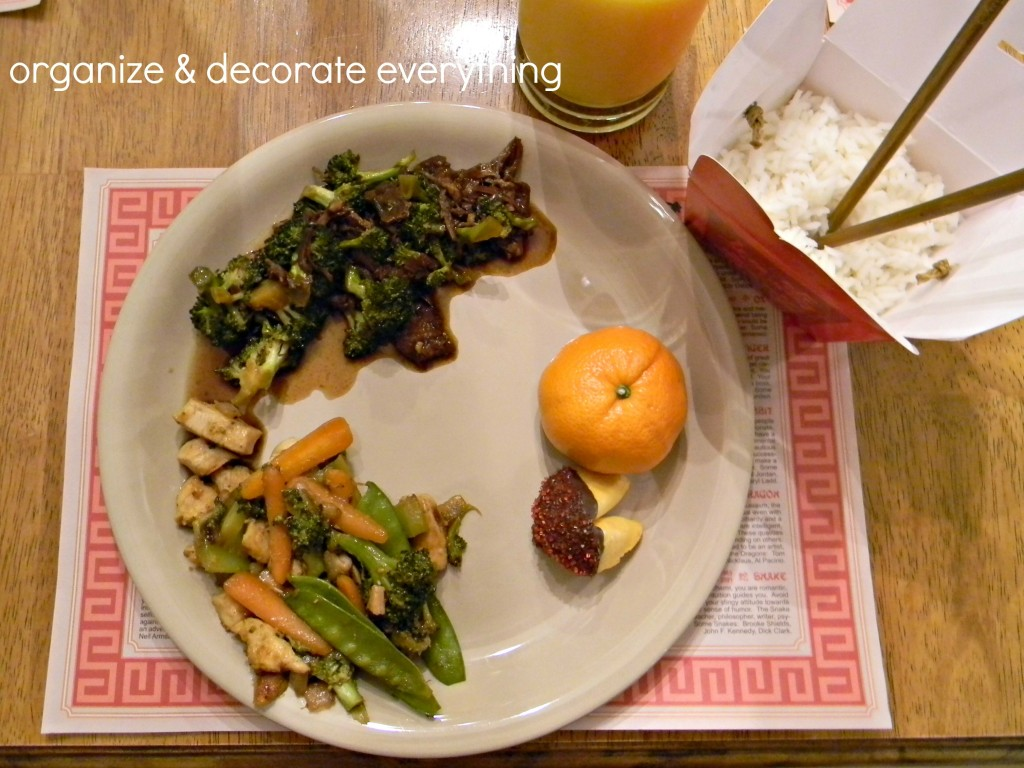 Chinese New Year Dinner 7.1