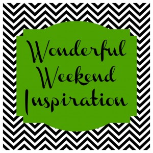 Wonderful weekend inspiration green