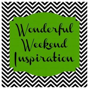 Wonderful weekend inspiration green