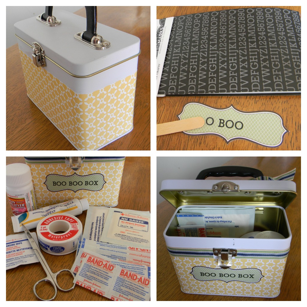 boo boo box collage