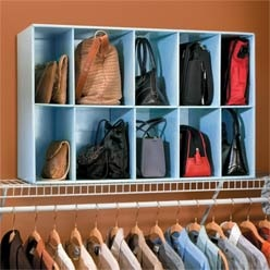 How To Store Handbags In Small Closet