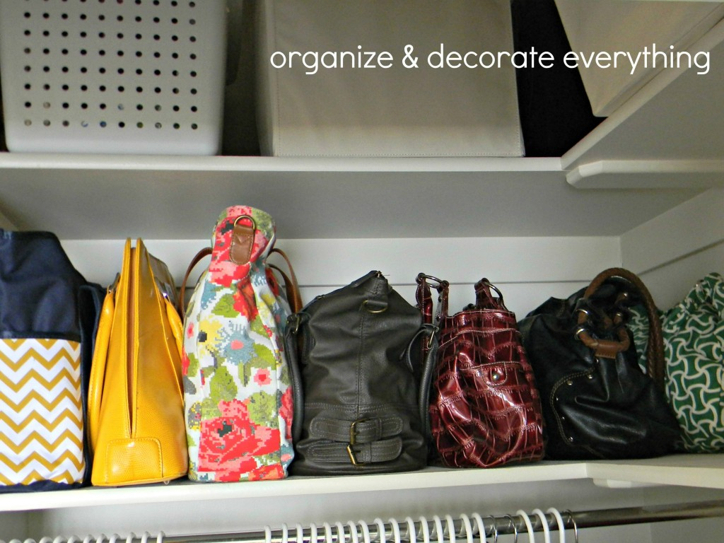 Organizing And Storing Handbags Organize And Decorate Everything