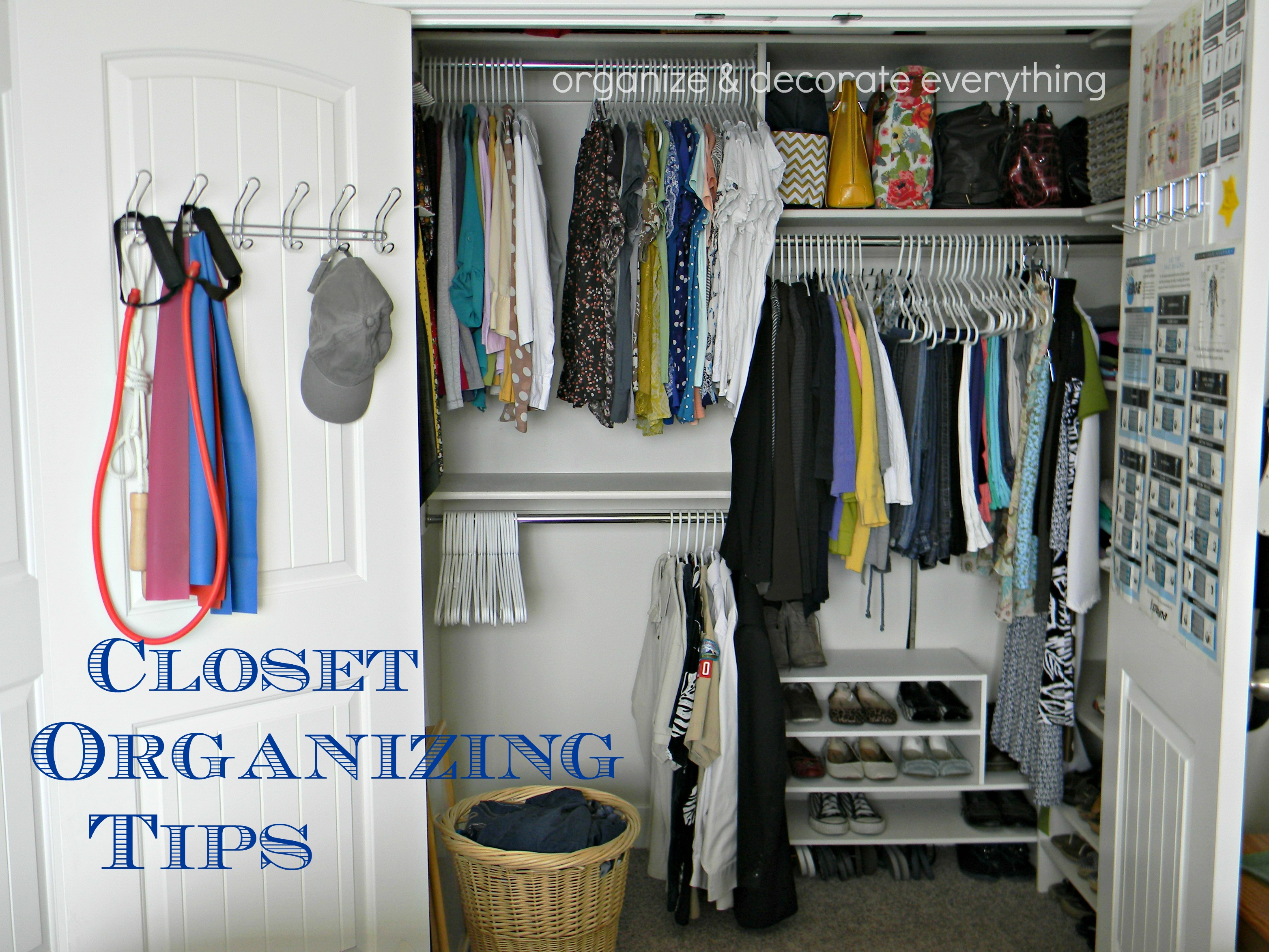 Closet Organizing Tips   Organize and Decorate Everything wOARv37t
