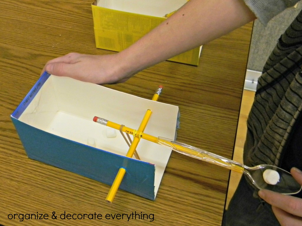Cub Scout Catapult - Organize and Decorate Everything