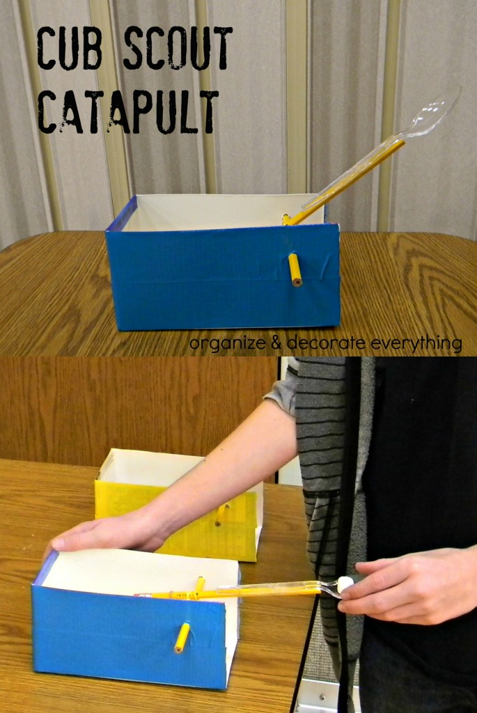 Cub Scout Catapult collage