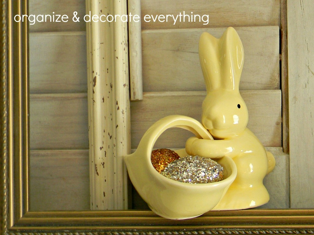 Easter-y mantel9.1