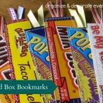 Food Box Bookmarks