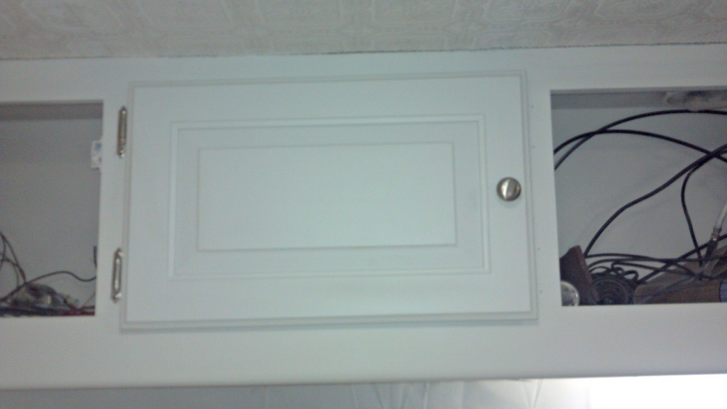 RV cabinets Installed